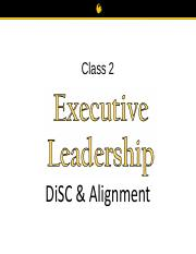 EL Class 2 DiSC and Alignment FINAL FT (3)