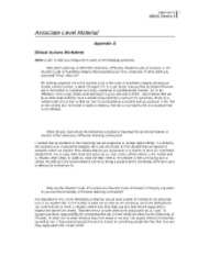 ethical actions worksheet Computer ethics 1 ethical issues and case studies case studies are a standard method of teaching for philosophy, law, and to a lesser extent, the.