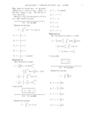 7.1 Integration by Parts-solutions