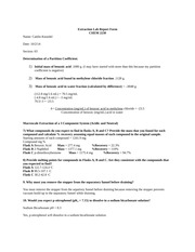 Extraction Lab Report Form Edited fall 2014