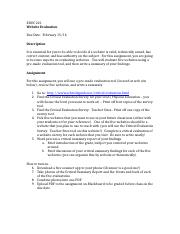 Web Site Evaluation assignment(1).docx