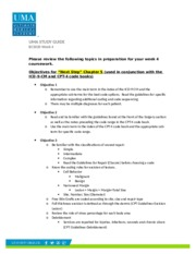 Study Guide BC3020 Week 4 updated