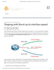 Shaping with Burst up to interface speed _ NetworkLessons.com.pdf