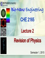 Lecture 2 - Revision of Physics (Sunway 2015).pdf