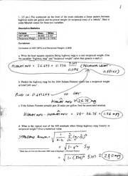 Solutions to Exam I, Math 382, Spr06