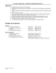 CH 8 Thermochemistry Worksheet eboard 0708