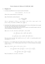 math20c Meesue Yoo fall 09 midterm 2 review with key