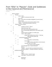 04 - From Elite to Popular Gods and Goddesses in the Classical and Postclassical.docx
