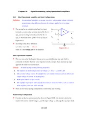 Chapter_18_Signal_Processing_Using_Operational_Amplifiers