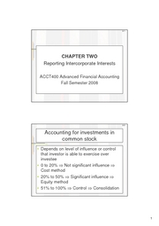 Advanced Financial Accounting Ch2 Lecture Notes