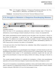 U.N. Struggles to Maintain .pdf
