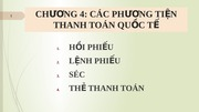 Chuong 4 _ Cac phuong tien thanh toan quoc te_P