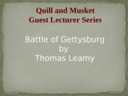 Power+Point+for+HIST+101+Battle+of+Gettysburg