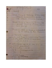 Intro to Physics Notes PHYS 100