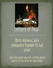 Letters of Paul.pptx