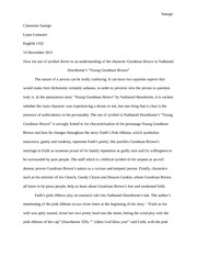 two kinds essay sanogo catannian engl liane lemaster two  7 pages research paper goodman brown