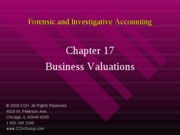 4Ed_CCH_Forensic_Investigative_Accounting_Ch17