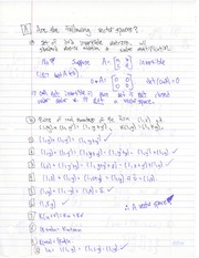MATH 1ZC3 Vector Spaces Notes