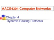 Chapter 4 - Dynamic Routing