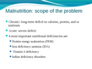 6 NUTRITION MALNUTRITION AND HEALTH