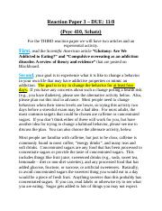 Reaction Paper - 3 Eating and Addiction.docx