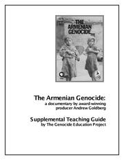The Armenian Genocide Documentary Teaching Guide