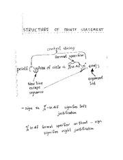 030414 comments on printf, format specifier & escape sequences
