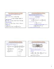 Slides for Nonisothermal Equations of change
