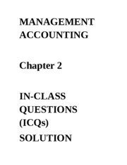 ICQ - Solution Chapter 2