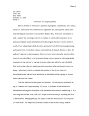 Essay #1 on Flow