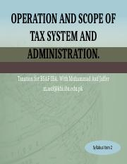 2.+Operation+and+scope+of+tax+system+and+administration