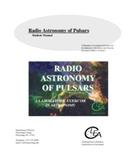 Astro 11 Laboratory Exercise - Pulsars