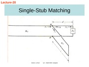 Lecture 21-Single and Double stub methods