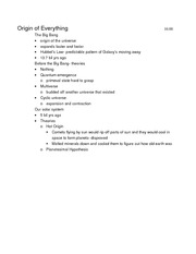 Test 1 Class Notes