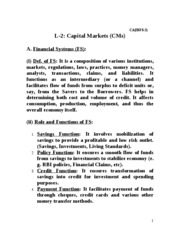 L-2 Capital Markets