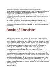 Battle Of Emotions.docx