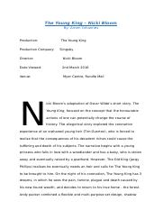 The Young King - Nicki Bloom Review.docx
