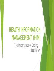 JohnovanCooper-Health Information Management and Assessment-HA565-Unit 5_Assignment