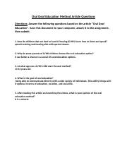 Oral Deaf Education Method Article Questions-1.docx