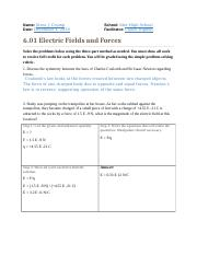 6.01 Electric Fields & Forces.docx