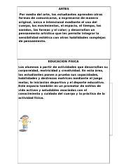 Actividad 5 Estructura Curricular Docx Artes Por Medio