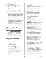 Pre-Calculus Homework Solutions 125