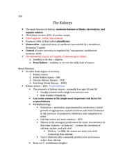 Kidney Notes - Chapter 11