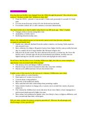 HDFS study guide short answers