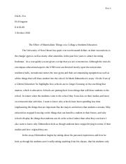 never do that to a book rhetorical analysis essay english  3 pages composition essay 1