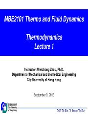 MBE2101_Thermodynamics_Lecture_1.pdf