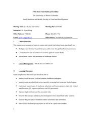 FNH413 Syllabus_September2014