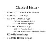 2.1 Classic History Classical Age bb