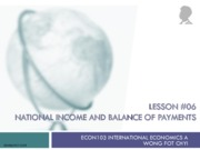 6 Lesson+06+National+Income+and+BOP+(Updated)