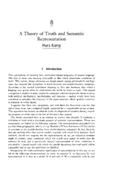 A Theory of Truth and Semantic Representation